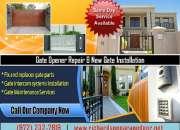 Call us (972) 232-7919   24/7 New Gate Installation   Richardson TX