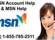 MSN Account help | 1-855-785-2511 | MSN Help