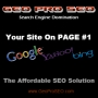 Your Site On Page #1 Google - Dominate Your Market