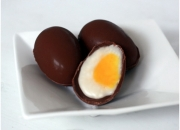 Recipe of how to make delicious crème chocolate eggs at home?