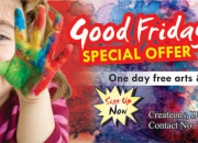 Free Arts & Crafts Classes on Good Friday Holiday