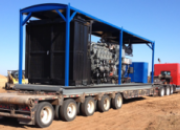 Portable natural gas generator for rent - baseline energy service