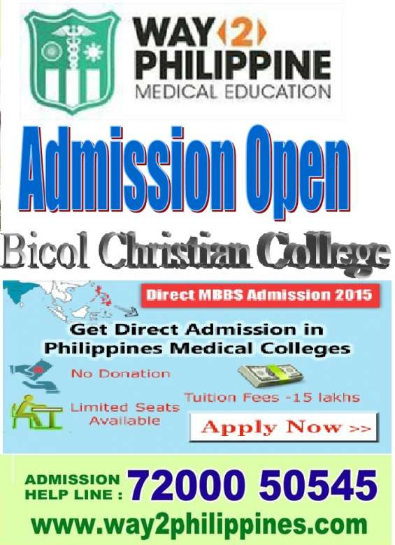 Bicol christian medical college in philippines(9940273943)