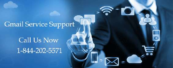 Support offered by gmail tech support team through 1 844 202 5571 (toll free)