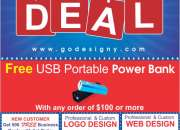 Free USB Power Bank – Labor Day Deal