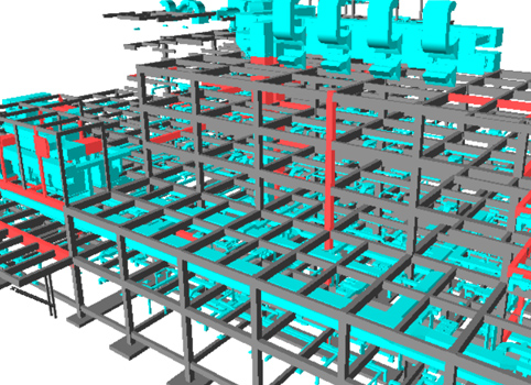 Steel structural designing engineering detailing services analysis and ideas layout at jed