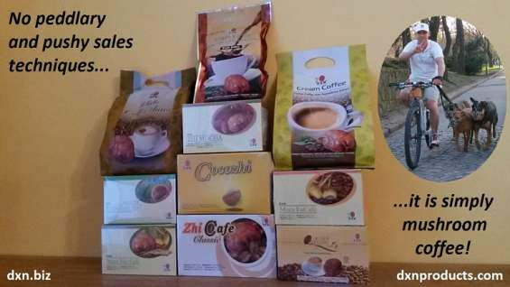 Online ganoderma coffee business, no investment, free websites