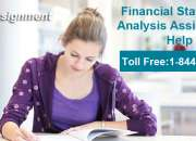 Financial Statement Analysis Assignment Help | USAassignment