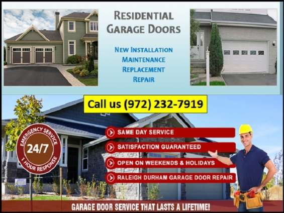Garage door repair company | start with only $25.95 | richardson, tx