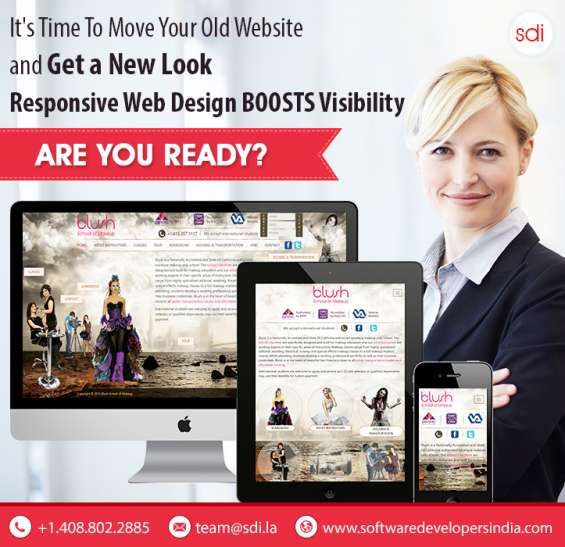 Develop responsive website for your business
